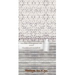 Backdrop white brick wall AS0025