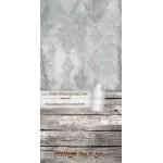 Backdrop gray ornaments AS0054