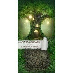 Backdrop fairytale Tree AS0127