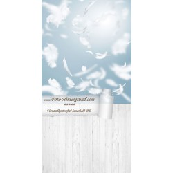 Backdrop feather AS0130