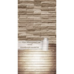 Backdrop brown stones AS0135