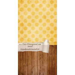Backdrop yellow dots AS0023