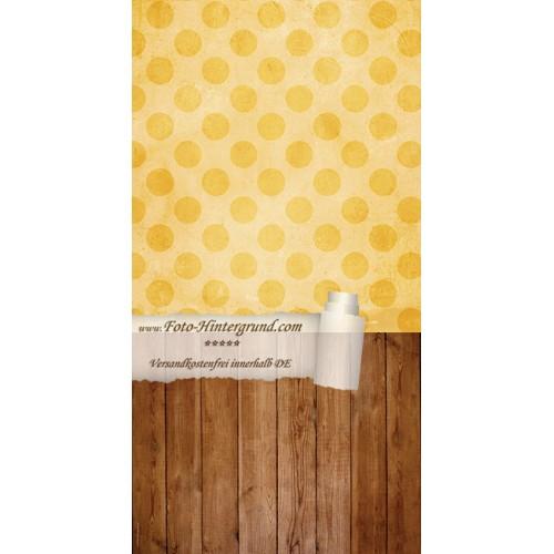 Backdrop yellow dots AS0023