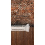 Backdrop Red brick wall AS0024