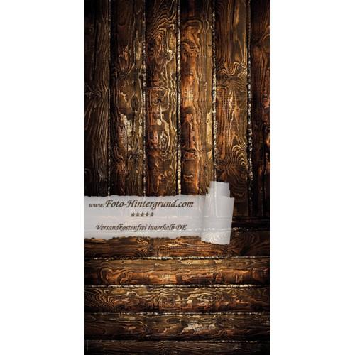Backdrop dark brown boards AS0029