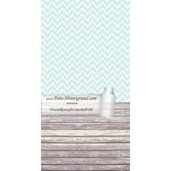 Backdrop blue zigzags AS0067