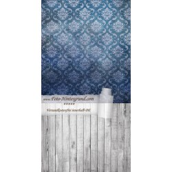 Backdrop dark blue Vintage Retro AS0006