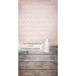 Backdrop pink brown zigzags AS0084