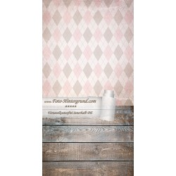 Backdrop trapezes pinkish brown AS0085