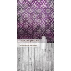 Backdrop purple Vintage Retro AS0008