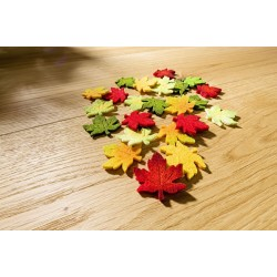 Maple leaves - 12 PCS